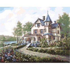 Мечта о загородном доме Карла Валенте Раскраска картина по номерам акриловыми красками на холсте