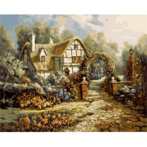 Летний дом Карла Валенте Раскраска картина по номерам акриловыми красками на холсте