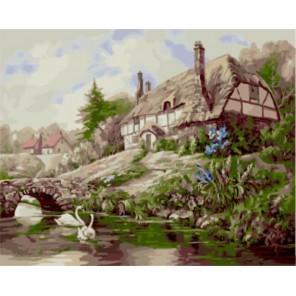 Уютный домик Карла Валенте Раскраска картина по номерам акриловыми красками на холсте