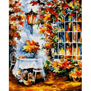 В саду Раскраска картина по номерам акриловыми красками на холсте | Картина по цифрам Леонида Афремова купить