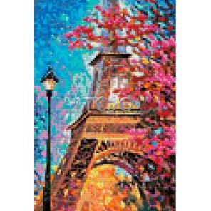 АМТ268-3020 Осень в Париже Алмазная мозаика на твердой основе Iteso