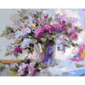 GX8235 Сирень (художник Людмила Скрипченко) Раскраска картина по номерам акриловыми красками на холсте