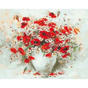 GX8225 Гармония цвета (художник Лафета Марина) Раскраска картина по номерам акриловыми красками на холсте
