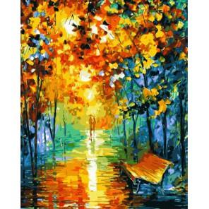 GX8210 Осеннее настроение (художник Леонид Афремов) Раскраска картина по номерам акриловыми красками на холсте