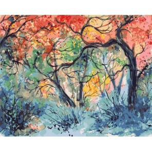 GX7939 Отражение весны Анны Армоны Раскраска картина по номерам акриловыми красками на холсте