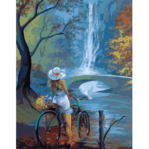 GX8148 На прогулке Раскраска картина по номерам акриловыми красками на холсте