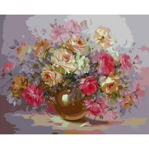 Шёпот грез (художник Надежда Левицкая) Раскраска картина по номерам акриловыми красками на холсте Molly