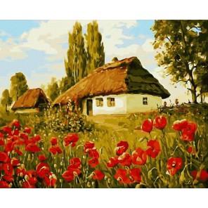 GX8271 Хуторок Раскраска картина по номерам акриловыми красками на холсте Molly