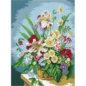 GZ092 Цветочная композиция Алмазная мозаика вышивка на подрамнике Molly