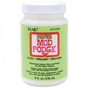 Глянец Клей лак для бумаги 11238 Mod Podge Plaid