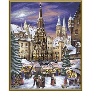 Рождественские гуляния Раскраска картина по номерам Schipper (Германия)