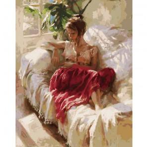 Полуденный отдых Раскраска картина по номерам акриловыми красками на холсте Белоснежка