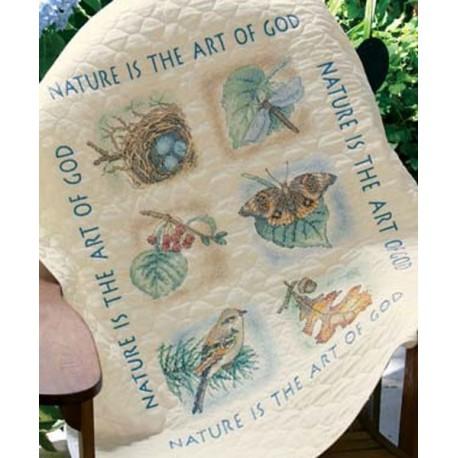 """Одеяльце """"Природа"""" 03235 Набор для вышивания Dimensions ( Дименшенс )"""