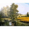 На исходе лета Раскраска картина по номерам акриловыми красками на холсте Molly