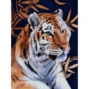 Уссурийский тигр Алмазная мозаика на твердой основе Iteso