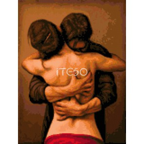 Поглощающая страсть Алмазная мозаика на твердой основе Iteso