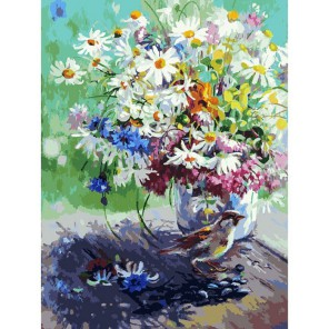 Спасибо (художник Юлия Неприятель) Раскраска картина по номерам акриловыми красками на холсте Белоснежка
