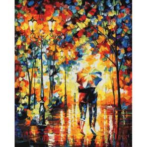 Под одним зонтом Раскраска картина по номерам акриловыми красками на холсте Белоснежка