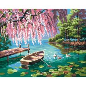 Дивный пруд Раскраска картина по номерам акриловыми красками на холсте