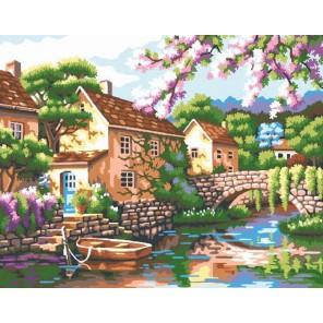 Прованс Раскраска картина по номерам акриловыми красками на холсте Molly