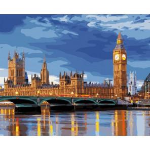 Лондон Раскраска картина по номерам акриловыми красками на холсте Molly