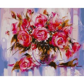 Красота роз Раскраска картина по номерам акриловыми красками на холсте Molly