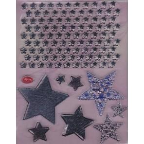 Звезды Набор прозрачных штампов для скрапбукинга, кардмейкинга Viva Decor