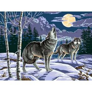 Ночные охотники Раскраска картина по номерам акриловыми красками на холсте Белоснежка