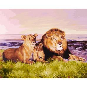 Семейство царственных особ Раскраска картина по номерам акриловыми красками на холсте Белоснежка