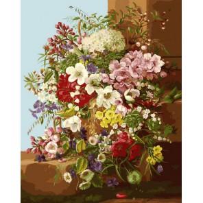 Свежие цветы Раскраска картина по номерам акриловыми красками на холсте Белоснежка