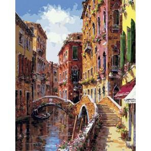 Мосты и каналы Венеции Раскраска картина по номерам акриловыми красками на холсте Белоснежка