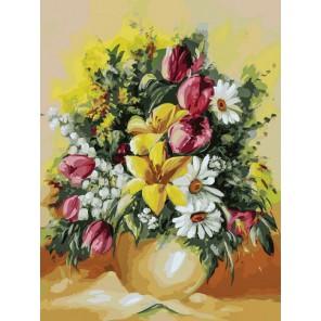 Душистый букет Раскраска картина по номерам акриловыми красками на холсте Белоснежка
