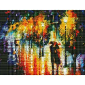 Теплым вечером (Леонид Афремов) Алмазная мозаика на подрамнике