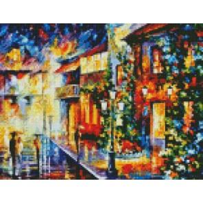 Разноцветная осень (Леонид Афремов) Алмазная мозаика на подрамнике