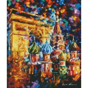 Из Парижа в Москву Алмазная мозаика на подрамнике