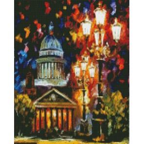 Мерцание ночи Санкт-Петербурга Алмазная мозаика на подрамнике
