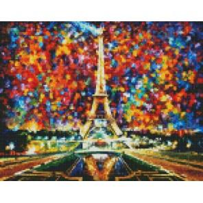 Эйфелева башня Алмазная мозаика на подрамнике