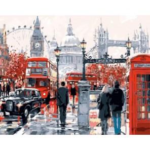 Лондонская суета Раскраска картина по номерам акриловыми красками на холсте