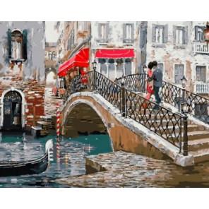 Венецианский мостик Раскраска картина по номерам акриловыми красками на холсте