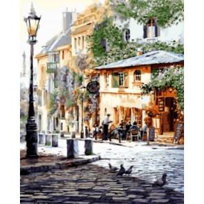Италия. Летнее кафе Раскраска картина по номерам акриловыми красками на холсте