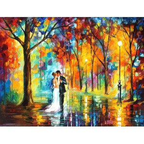 Жених и невеста Раскраска картина по номерам акриловыми красками на холсте