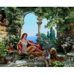 Хищницы Раскраска картина по номерам акриловыми красками на холсте Menglei
