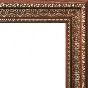 Alice (темно коричневый) Рамка багетная универсальная для картины