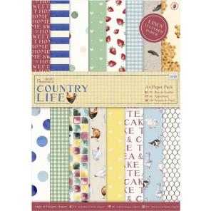 Country Life А4 Набор бумаги для скрапбукинга, кардмейкинга Docrafts