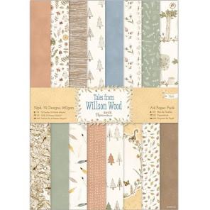 Willson Wood А4 Набор бумаги для скрапбукинга, кардмейкинга Docrafts
