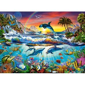 Райская бухта Пазлы Castorland