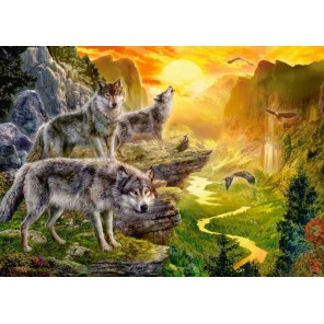 Долина волков Пазлы Castorland