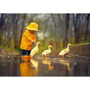Дождливый день Пазлы Castorland