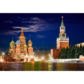 Красная площадь, Москва Пазлы Castorland