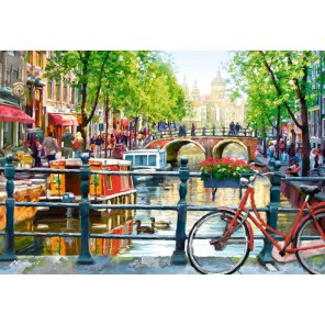 Пейзаж. Амстердам Пазлы Castorland